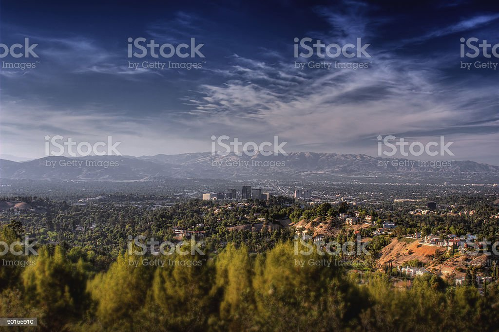 San Fernando Valley stock photo