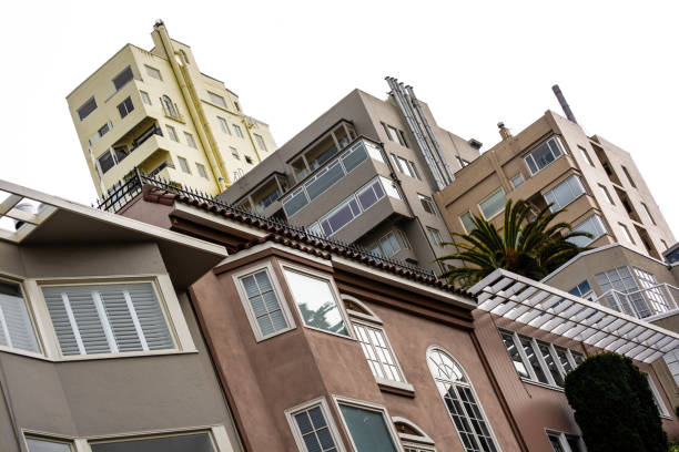 San Fran Sky stock photo
