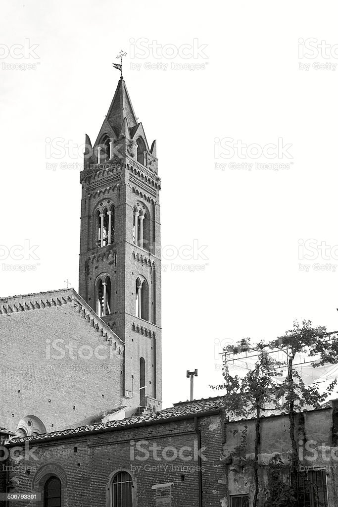 San Francesco church in Pisa, Italy stock photo