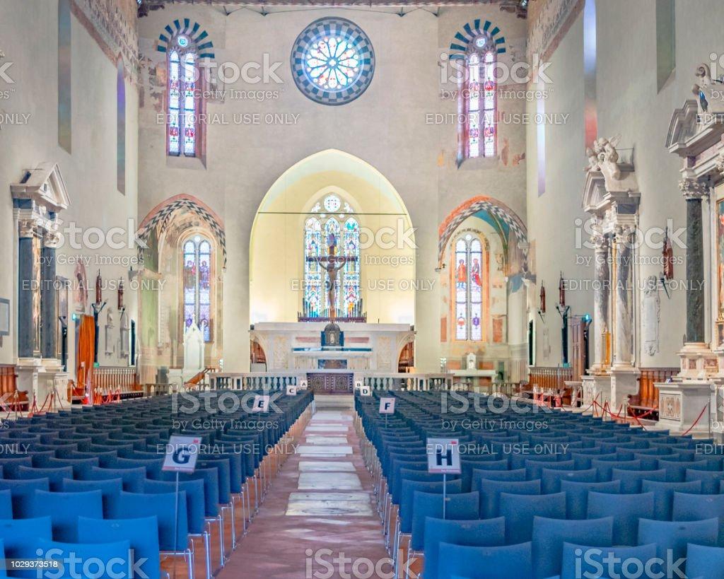 San Francesco Church, Lucca, Italy stock photo