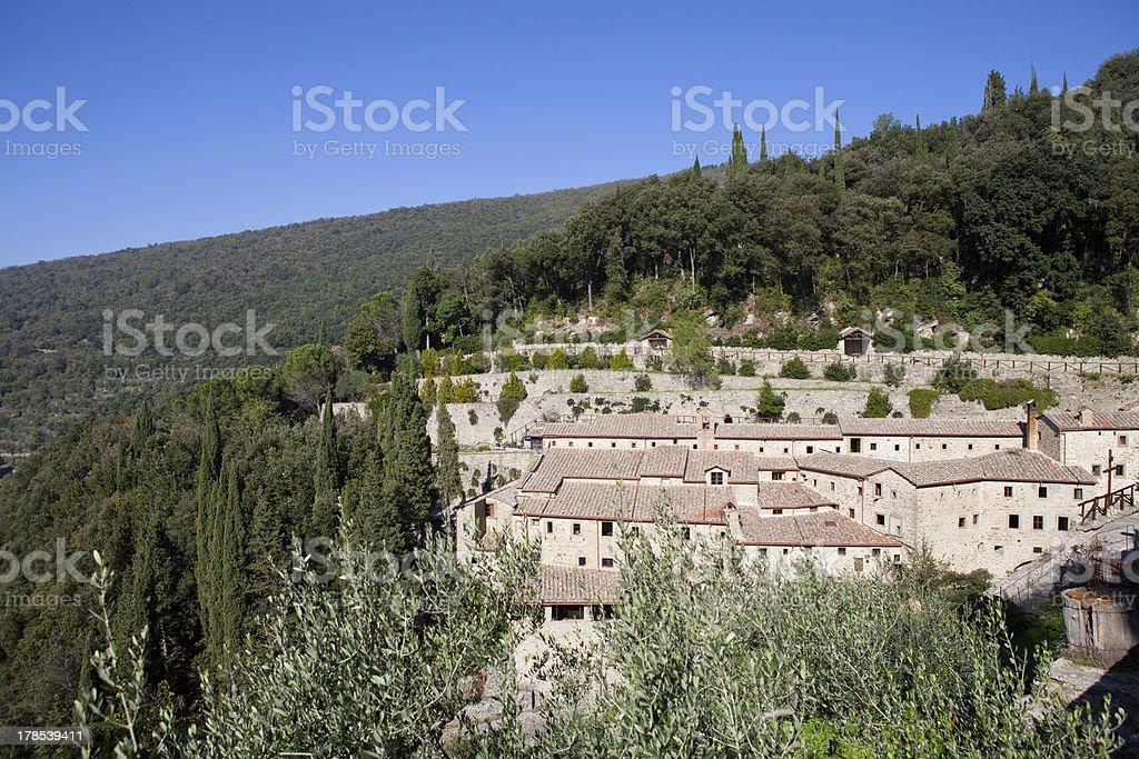 San Francesco Hermitage royalty-free stock photo