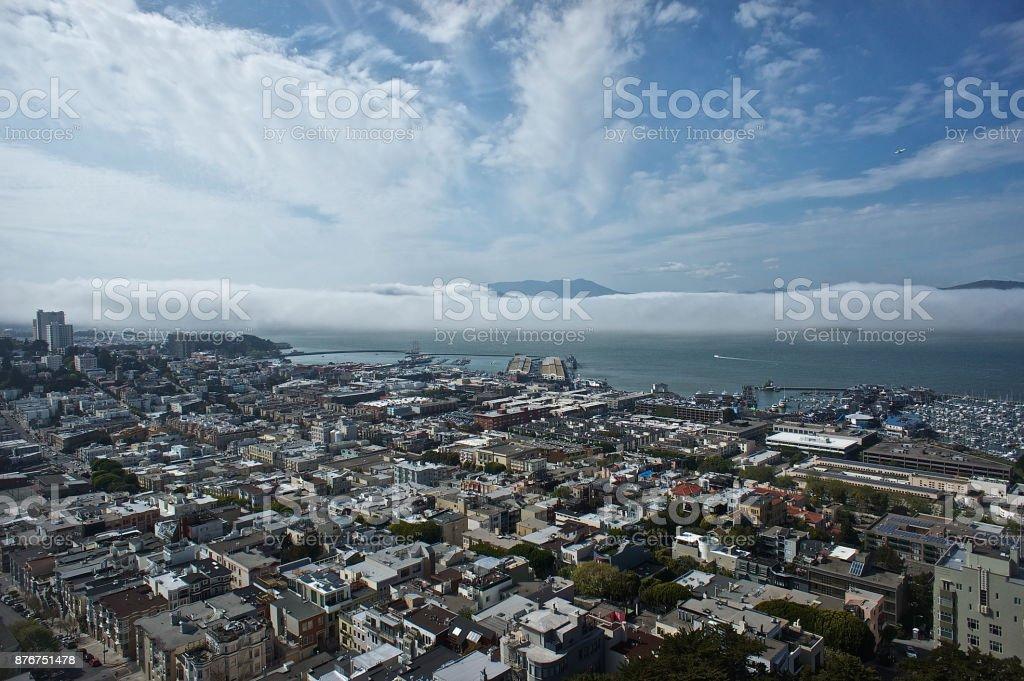 San Francisco aerial stock photo