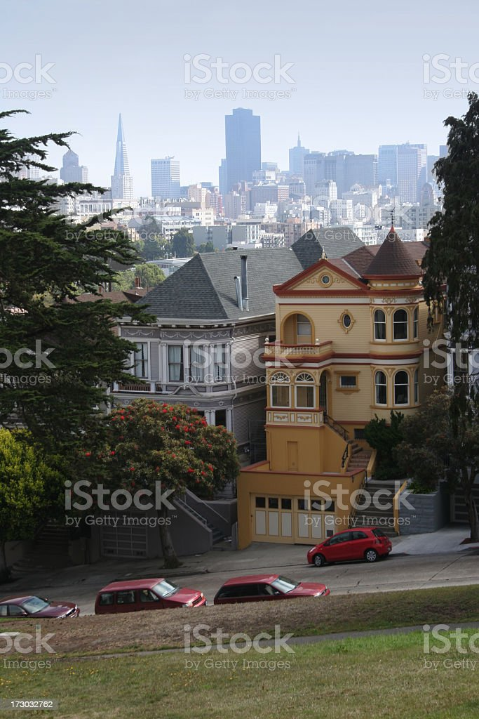 San francisco architectures royalty-free stock photo