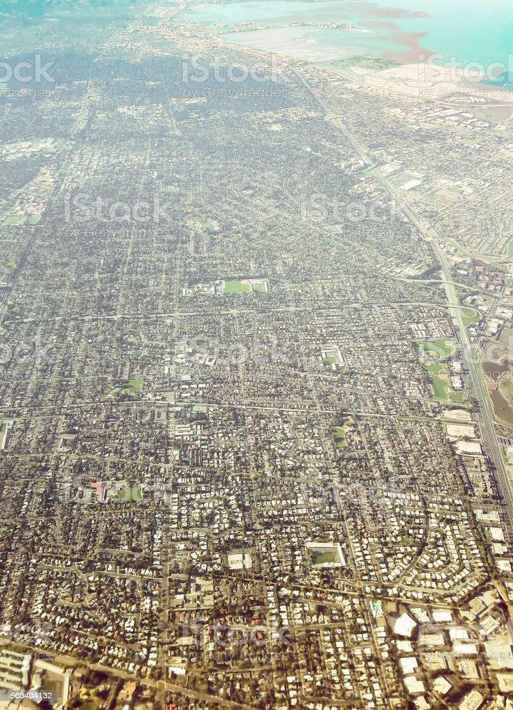 샌프란시스코 베이 지역 - 로열티 프리 계곡 스톡 사진