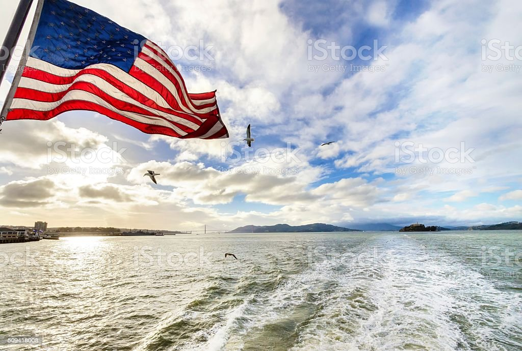 San Francisco Bay, California stock photo