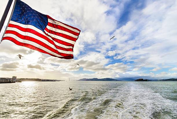 San Francisco Bay, California stock photo