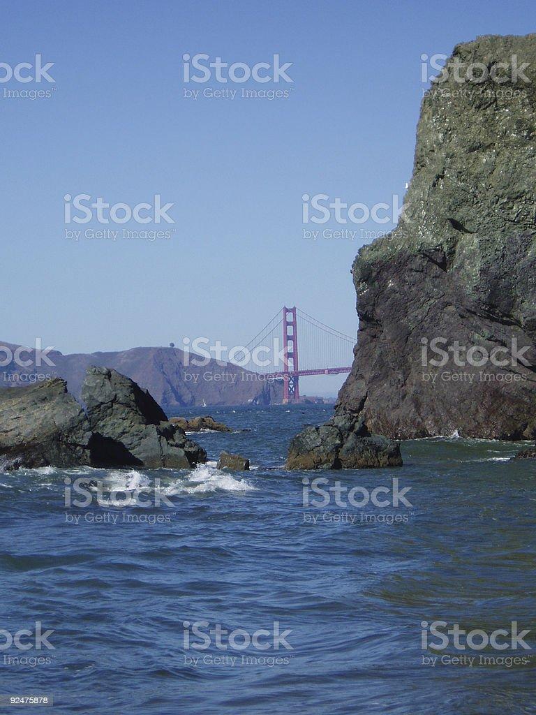 San Francisco Bay III royalty-free stock photo