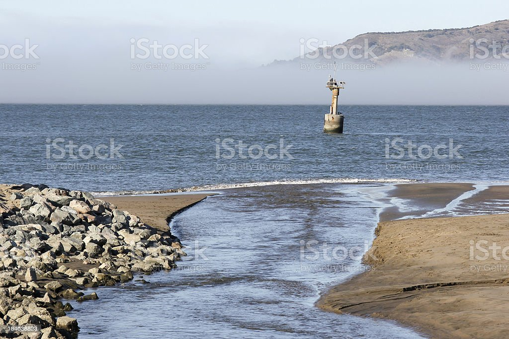 San Francisco Bay in California, USA stock photo