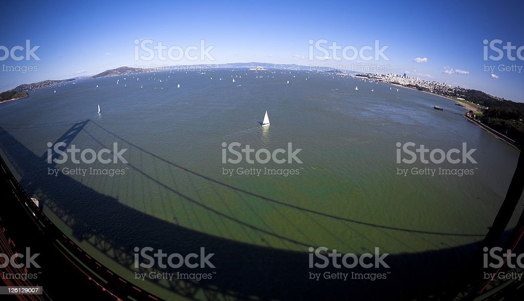 San Francisco Bay royalty-free stock photo