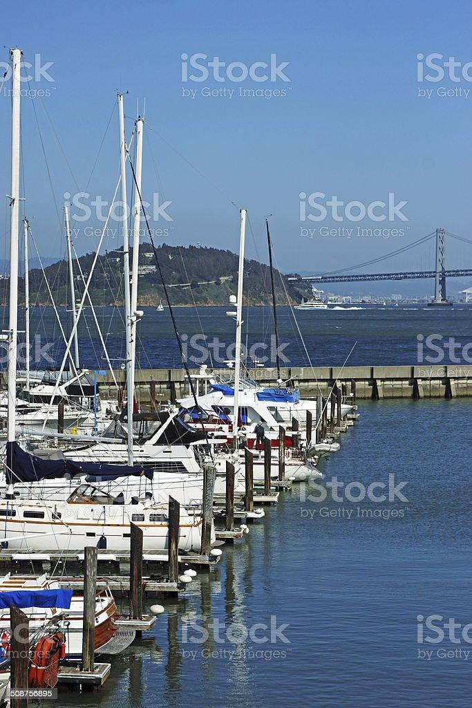 San Francisco Bay stock photo
