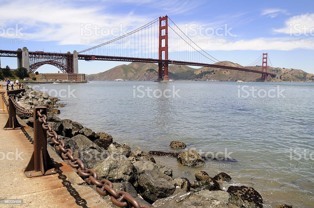 San Francisco Bay royalty-free stock photo