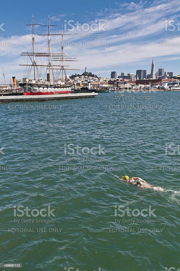 San Francisco Bay Schwimmer, Kalifornien, USA – Foto