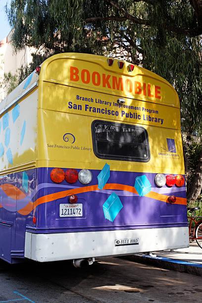 San Francisco Bookmobile stock photo
