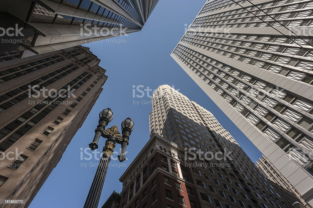 San Francisco buildings royalty-free stock photo