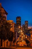 San Francisco by night-California-USA