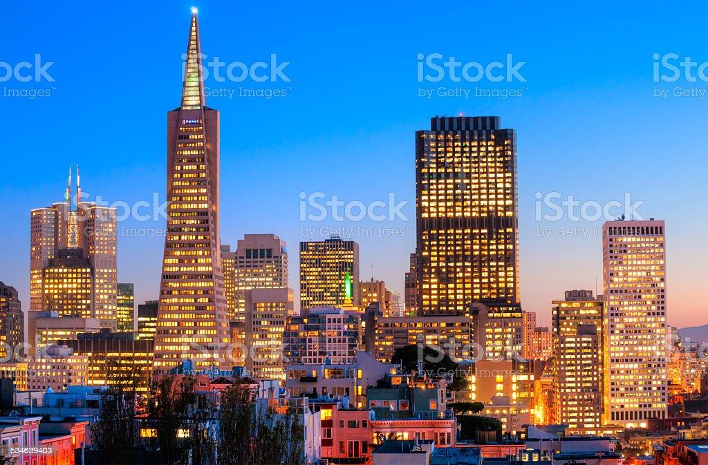 San Francisco, California, USA. stock photo