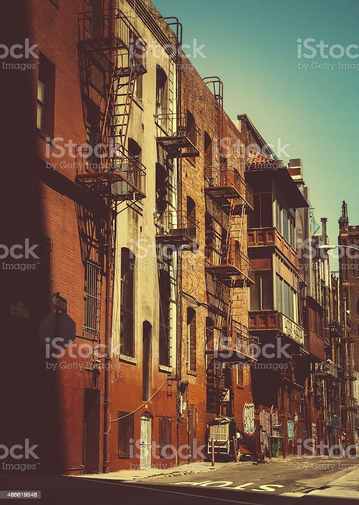 San Francisco China Town stock photo
