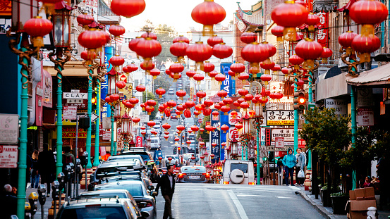 San Francisco Chinatown Stock Photo - Download Image Now