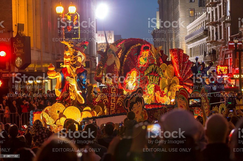 san francisco chinese new year parade in chinatown royalty free stock photo - Chinese New Year San Francisco