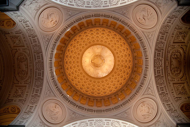 san francisco city hall - cupola stock pictures, royalty-free photos & images