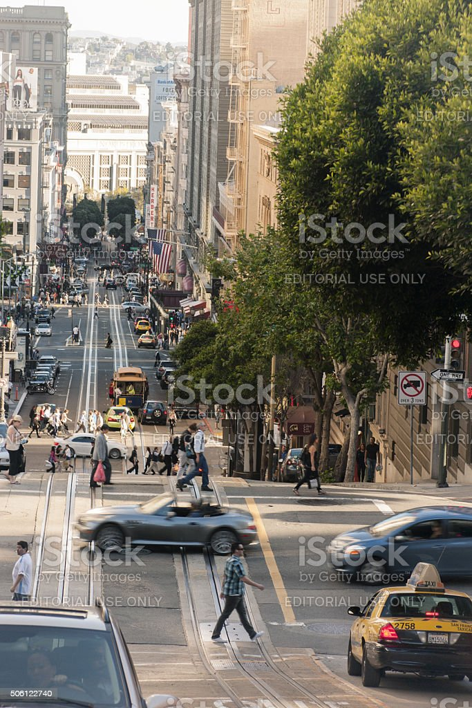 San Francisco city stock photo