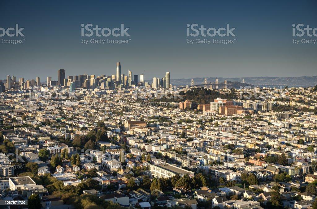 San Francisco Cityscape - Day stock photo