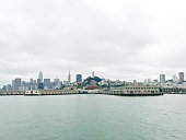 Picture of San Francisco cityscape from the bay.
