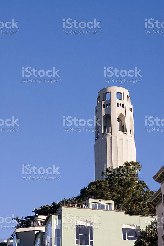 San Francisco: Coit Tower royalty-free stock photo