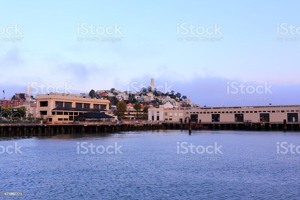 San Francisco: Coit Tower royalty-free stock photo