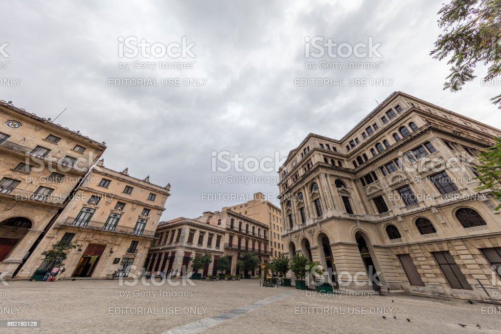 San Francisco de Asis square, Havana, Cuba stock photo