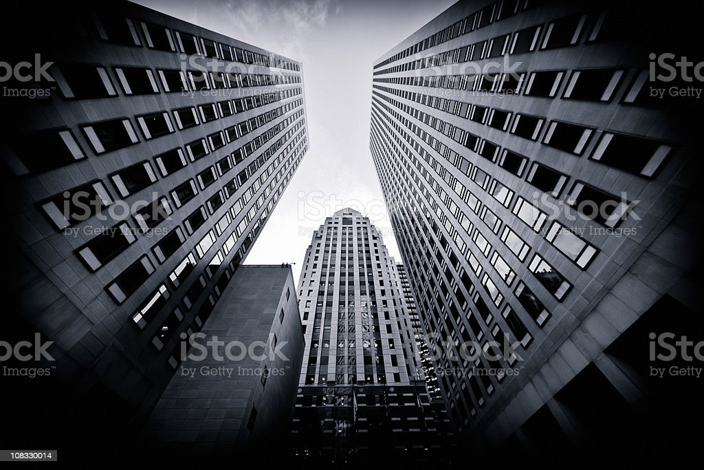 San Francisco downtown royalty-free stock photo