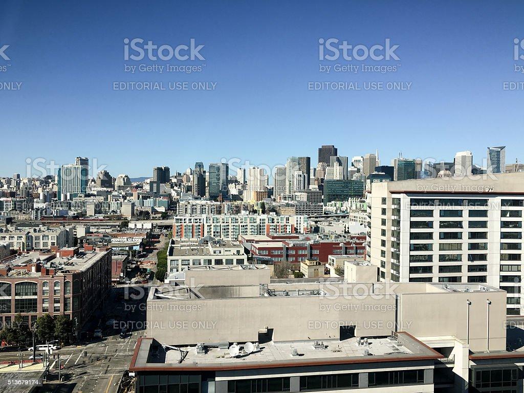 San Francisco Downtown Skyline stock photo