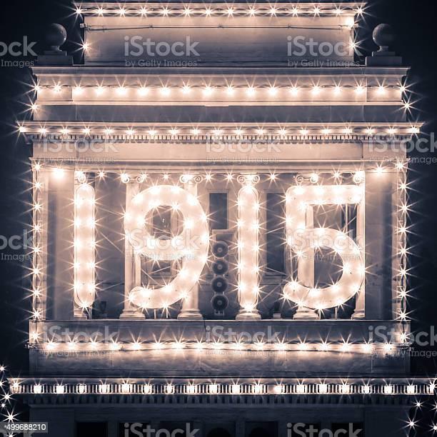 San Francisco Ferry Building 1915 Lights