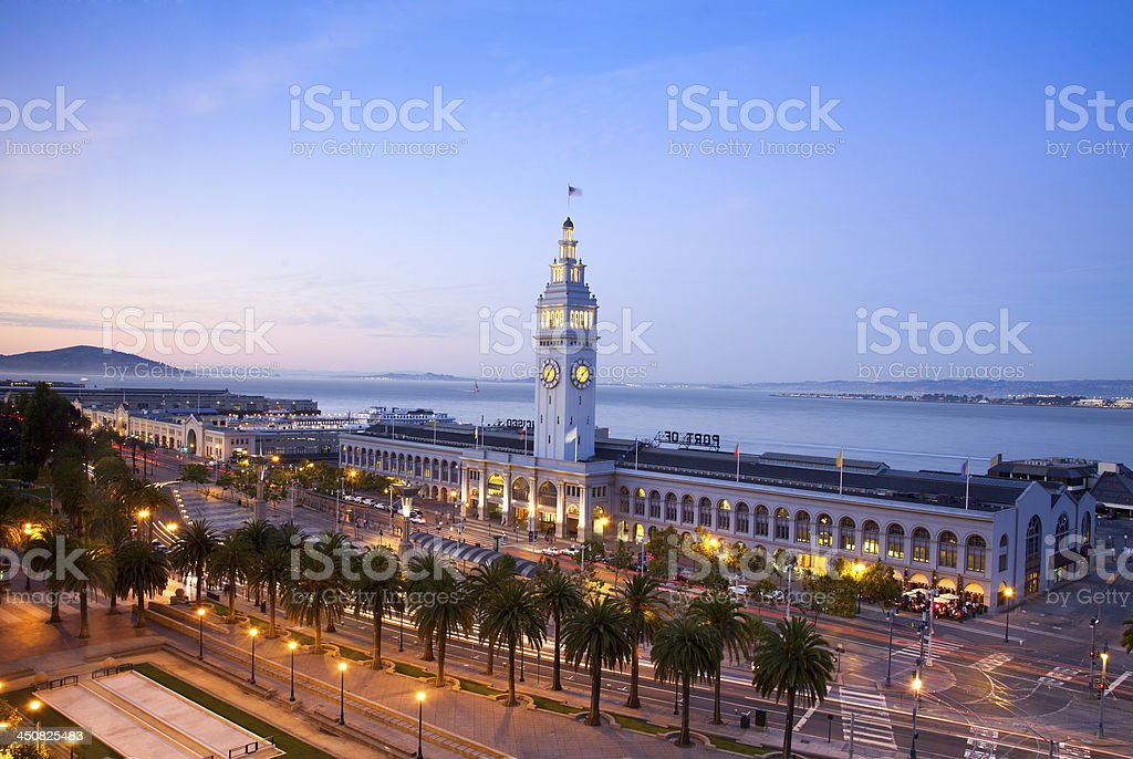 San Francisco Ferry Building stock photo