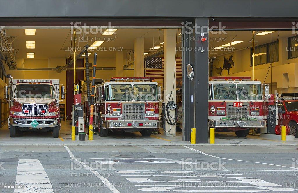 San Francisco Fire Department stock photo