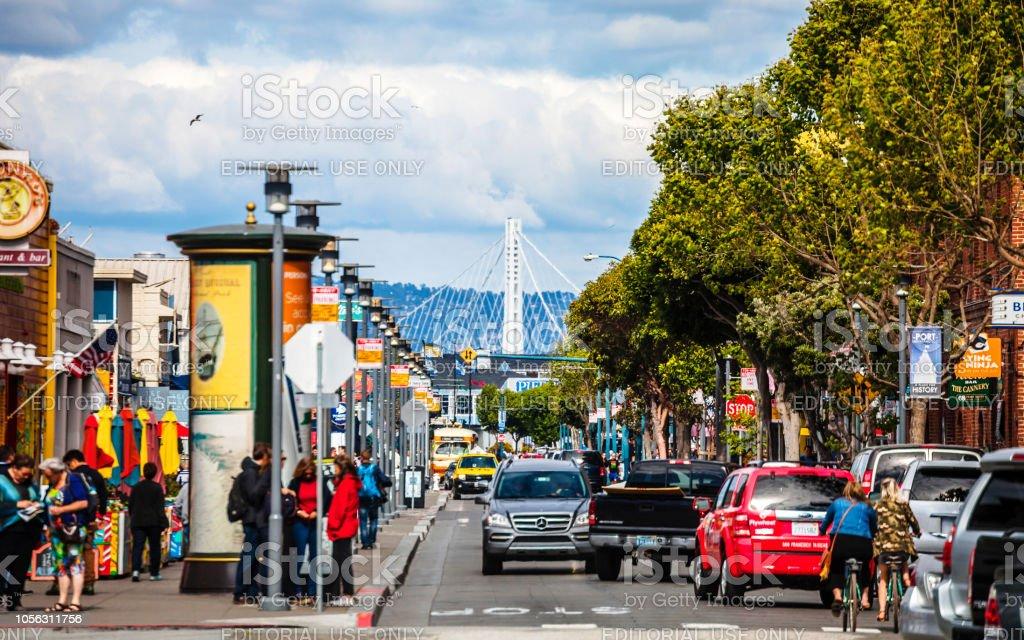 San Francisco - Fisherman's Wharf stock photo