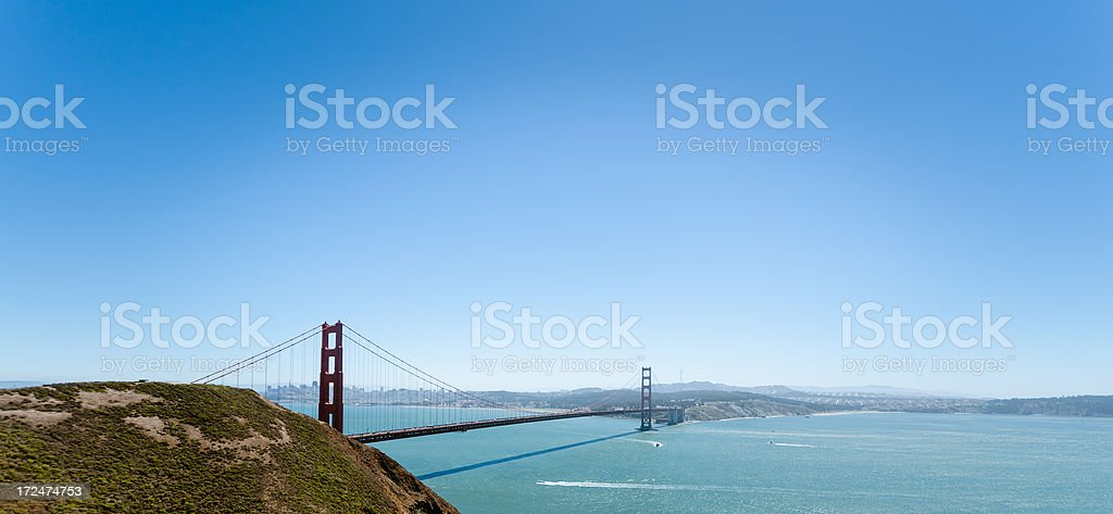 San Francisco golden gate bridge royalty-free stock photo
