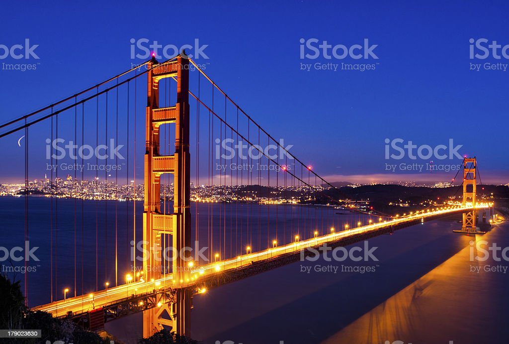 San Francisco - Golden Gate Bridge royalty-free stock photo