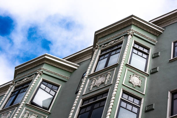 San Francisco Homes stock photo