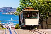 istock San francisco Hyde Street Cable Car California 521971451