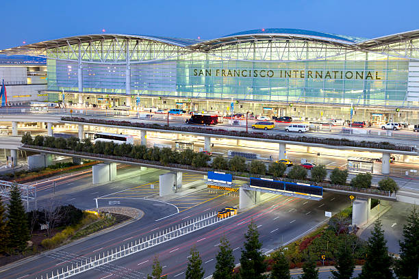 San Francisco International Airport stock photo