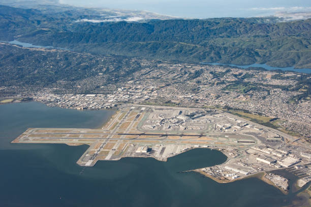 san francisco international airport - dally stock pictures, royalty-free photos & images