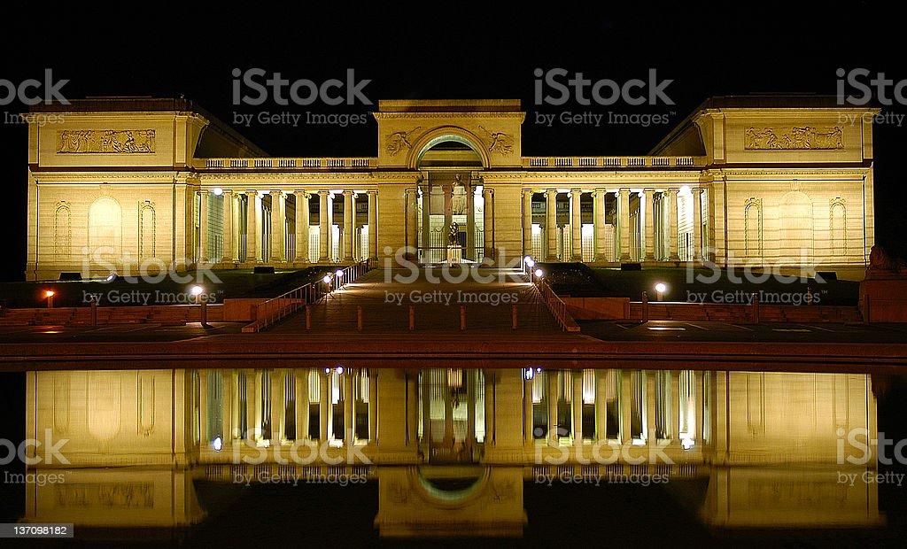 San Francisco Legion of Honor royalty-free stock photo