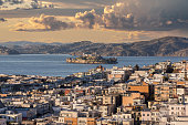 istock San Francisco Marina District and Alcatraz Island with Stormy Sky 1289434686