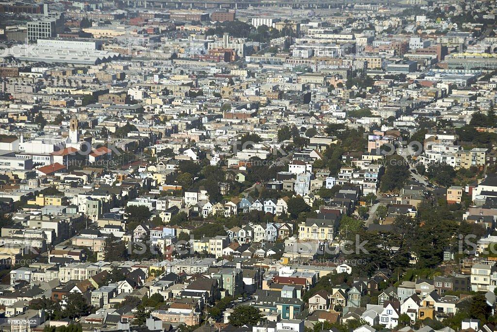 San Francisco Mission District stock photo