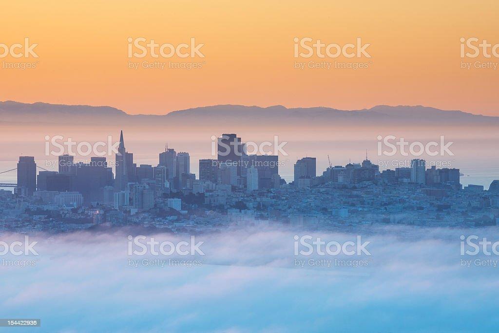 San Francisco Morning stock photo