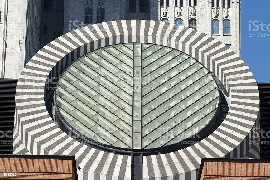 San Francisco Museum  Dome detail