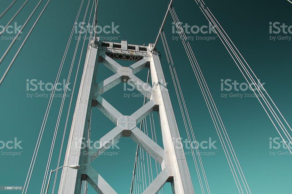 san francisco oakland bay bridge royalty-free stock photo