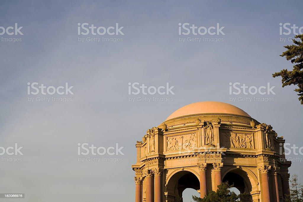 San Francisco: Palace of Fine Arts royalty-free stock photo