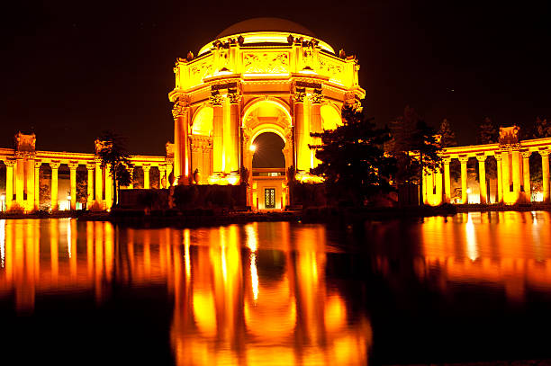 San Francisco Palace of Fine Arts Theatre stock photo